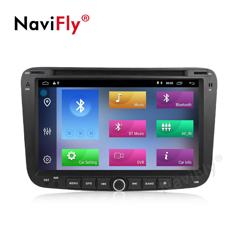 NaviFly Android 9.1 Quad-core 2G+32G 7inch Car DVD Player Car Video for GEELY Emgrand EC7 2012 2013 2014 Car stereo player