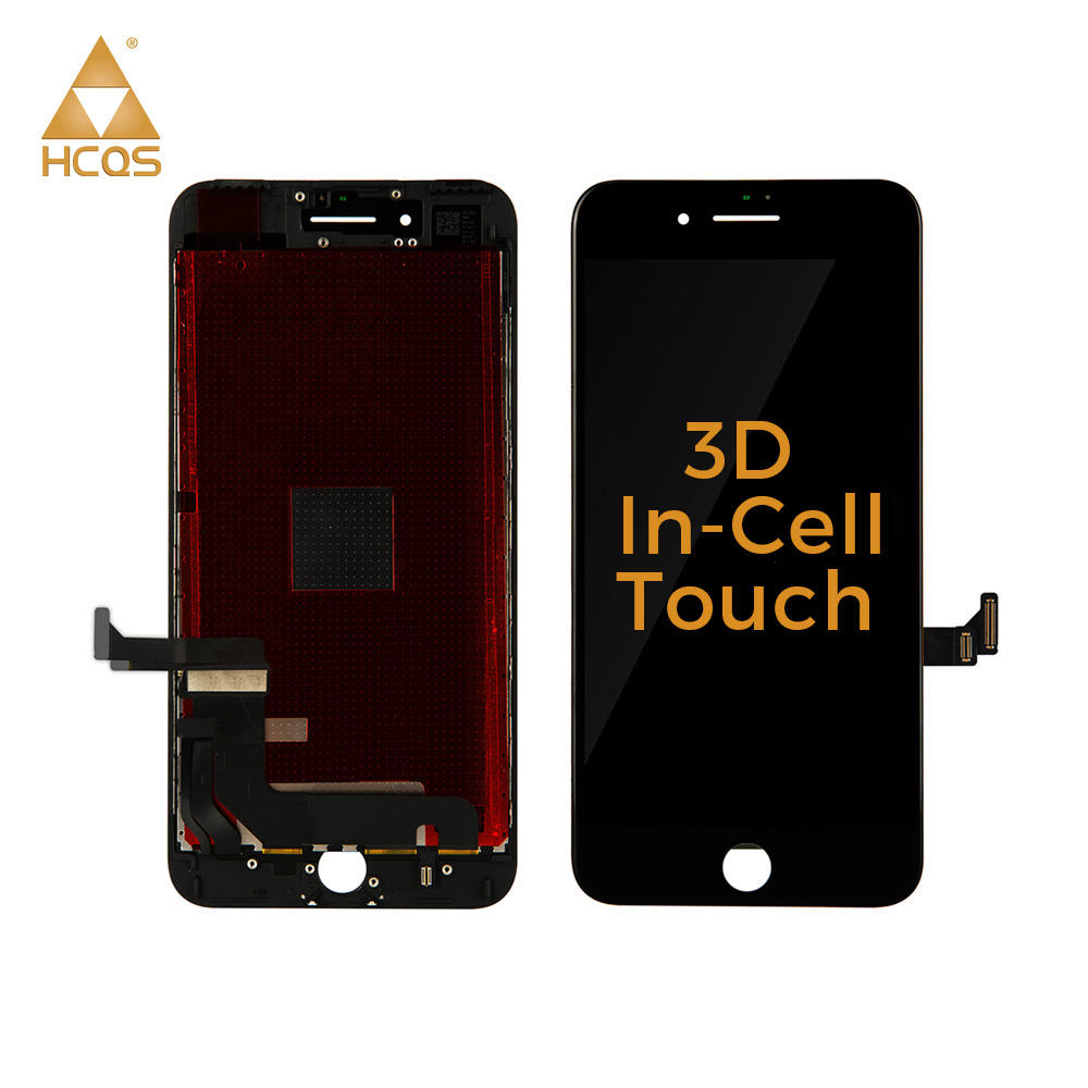 HCQS 3D In-Cell Touch Lcd for iphone 7 plus, Digitizer replacement For iPhone 7 plus LCD Screen