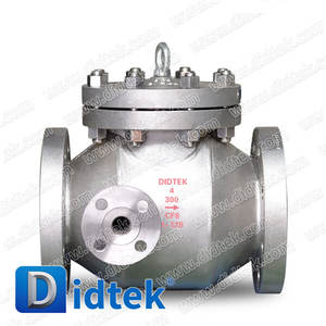 Didtek Heat Jacket Swing Check Valve