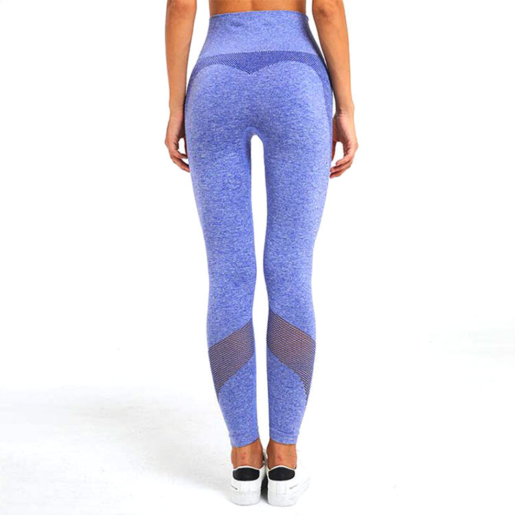 Fabrikant China Wholesale Nieuwe Naadloze Vrouwen Running Broek Hot Ademend Mesh Sport Wear Naadloze Yoga Leggings