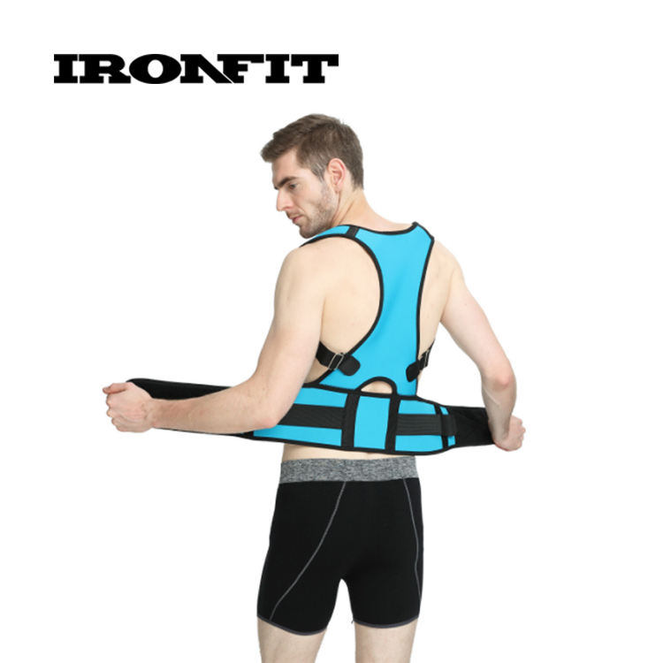 Full Back Support Adjustable Posture Corrector Brace