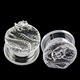 TP01450 surgical steel dragon ear plug piercing wholesale