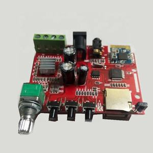 10W+10W DC 12V bluetooth power amplifier PCB board/module , support WAV MP3 , for mobile phone ,Android,Iphone,Ipad