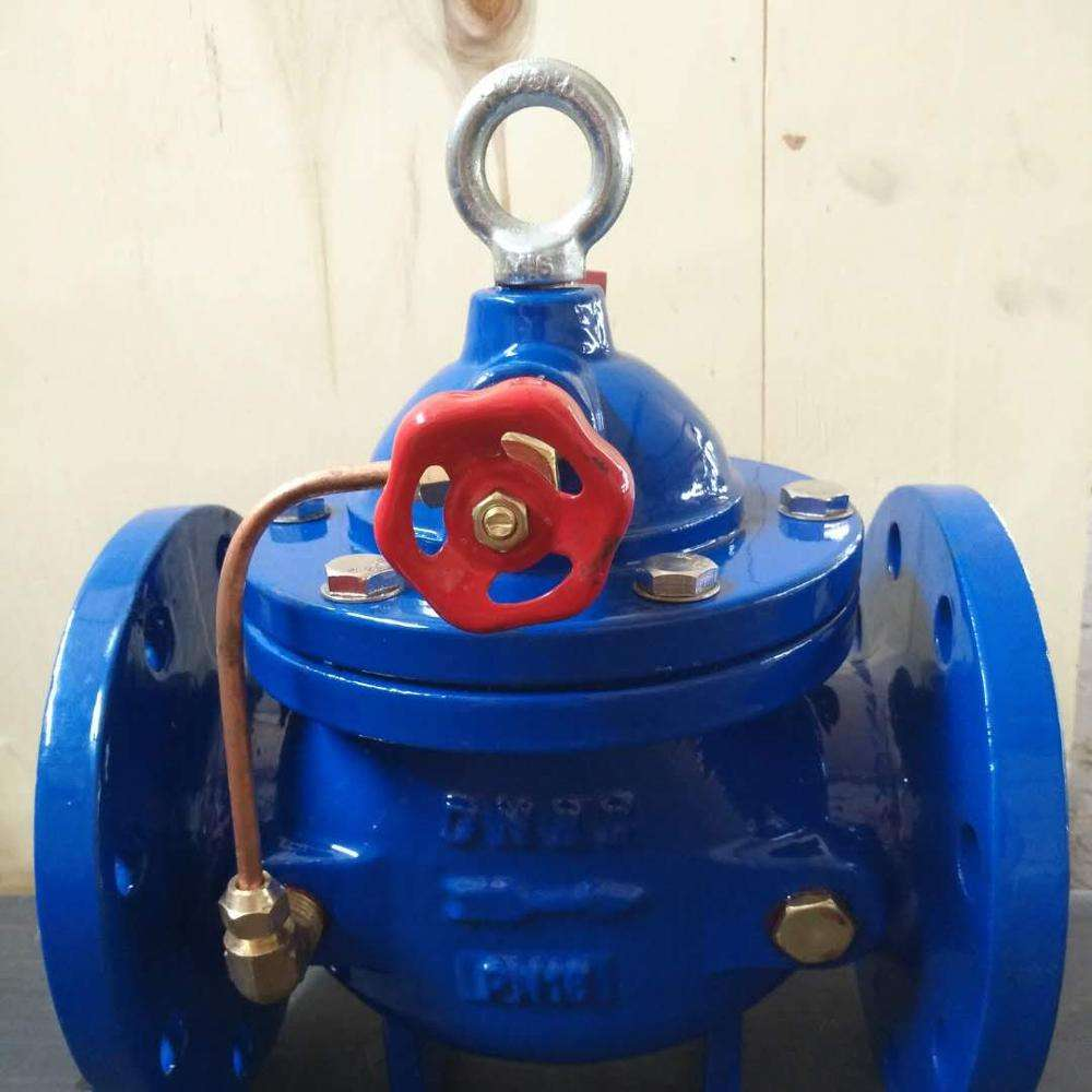 Double Flange 100X Air Hidrolik Ball Float Kontrol Katup Air Ulet Besi 100X Float Valve