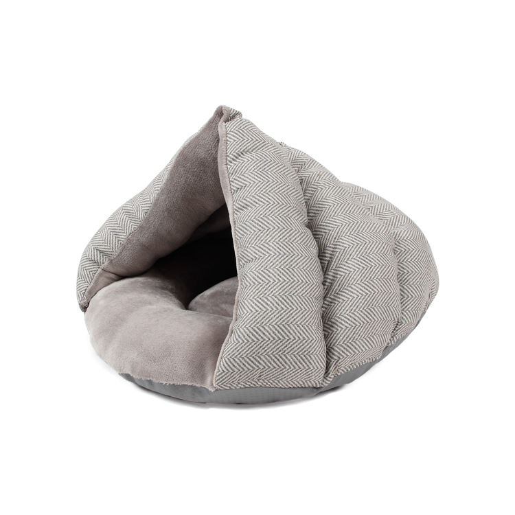 Petstar Thick Fleece Warm Slipper Dog Bed Cuddler Pet Tent Cave Dog Sleeping Bag