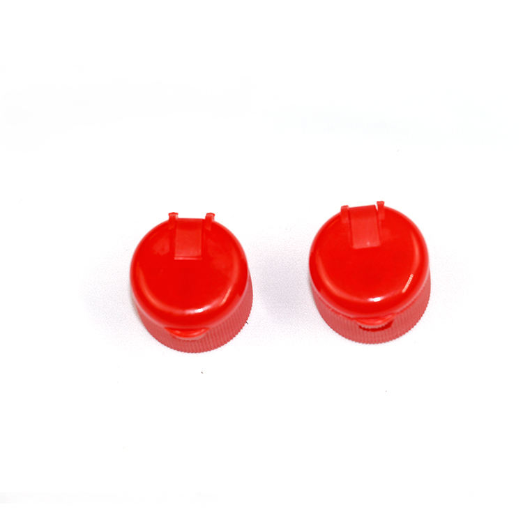 plastic spout cap flip top cap for chemical PE bottle plastic lid for hair