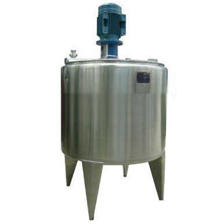 50L 1000L Stainless Steel Tank Heater Screw And Mixer