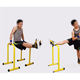 High Parallettes Core Trainer Push Up Bars / Steel Parallettes Sport Bar