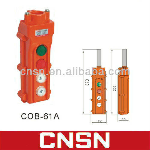 COB-61A up down tombol tekan derek hoist switch hoist listrik control switch ( cnsn )