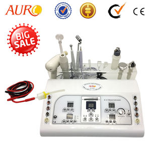 AU-8208 High Frequency Ultrasonic Remove Spot Beauty Instrument Facial Machine 8 in 1