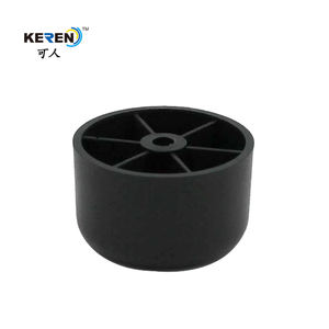 Wholesale New Design 30mm Height Black Furniture Feet Plastic Sofa Legs With Custom Logo