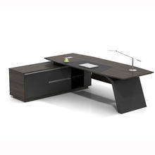 latest wooden table pictures modern design secretary executive table office