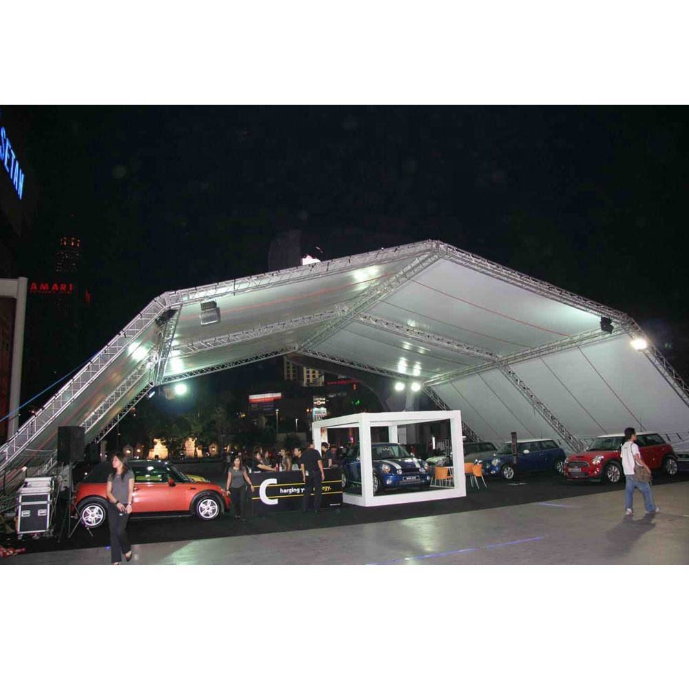 Mobile Outdoor Event Stage Truss Roof Canopy For Outdoor performance