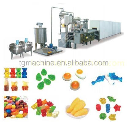 Made in China Automatic Gummy/Jelly Candy Depositing Line