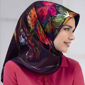 New Arrival Hot Selling African Muslim Printed Thick Elegant Tudung Scarf