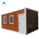 New design luxury china flat pack container storage homes