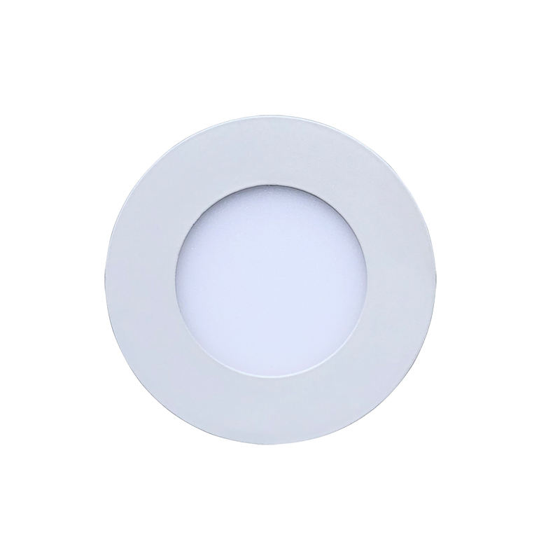 85-265V LED Panel Light 3W Square Round Recessed Grid Downlight Ultra thin Ceiling Lamp 2835 SMD Lighting