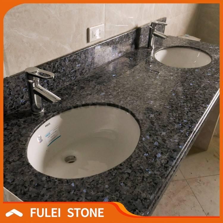 Lowes 72 Inch Bathroom Double Sink Blue Pearl Granite Vanity Tops