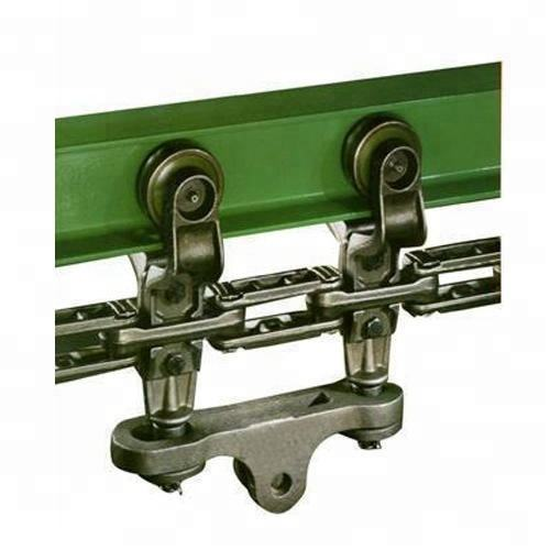 Pig sheep overhead bend arc shape stainless rail H I beam steel for overhead monorail manual single track conveyor system