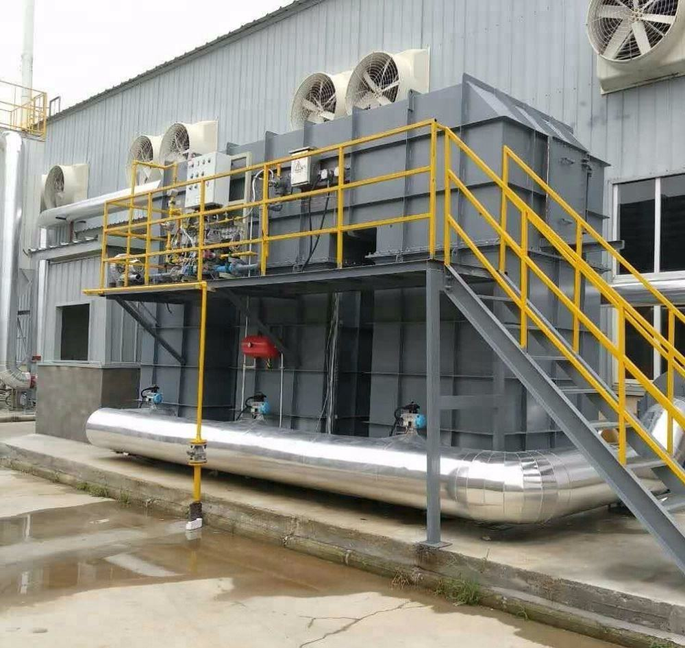 4S shop China industrial waste gas treatment equipment regenerative thermal oxidizer gas disposal