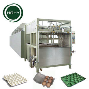 HGHY full automatic egg packaging tray making machine from China factory