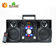 ELETREE WHOLESALE FM,AM,SW1-2 PORTABLE RADIO BOOMBOX WITH USB,SD Card Play WITH TRANSFORMER