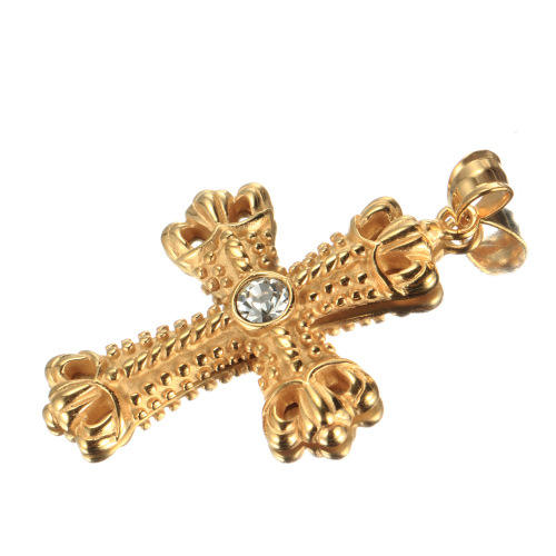 Best Selling Producten 2017 Gold Diamond cross stuk JF080