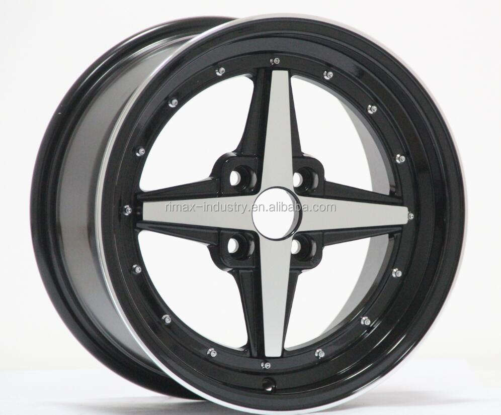 "14"" inch 15 inch 4x100 4x114.3 alloy wheels for car"