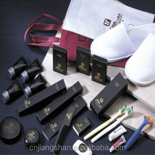 Disposable hotel amenities hotel supplies set