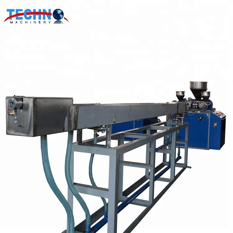 Plastic Drinking Straw Making Machine/PP PE Single or Two or Three Colors Straw Extrusion Production Line