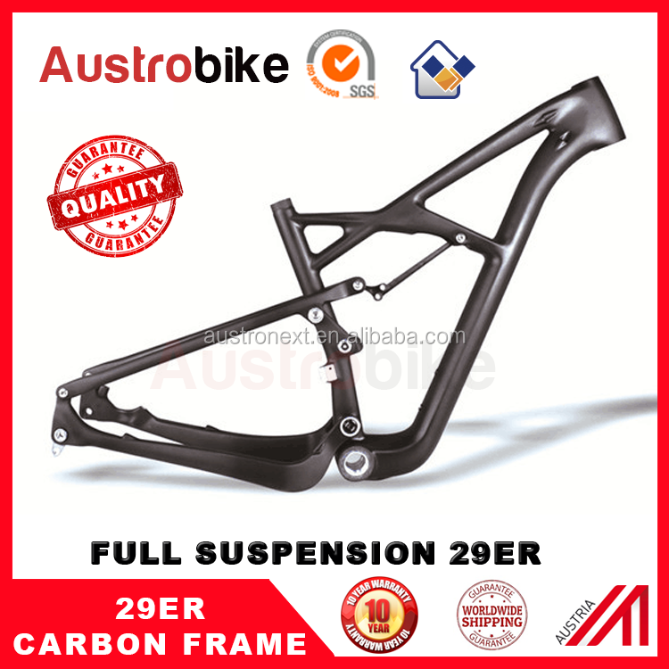 hot sale full suspension mountain bike carbon frame 29er direct factory price