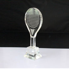 2020 unique design tennis crystal trophy and awards