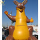 2019Hot sale giant Inflatable kangaroo for advertising