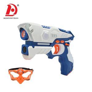 Varda 2020 Groothandel Kinderen Interactie Battle Game Dubbele Elektrische Speelgoed Laser Tag Gun Set