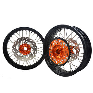 SXF EXC 250 300 450 Double Color Supermoto Wheels in Motorcycle Wheels