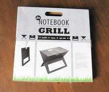 Barbecue grills fluted corrugated carton box design