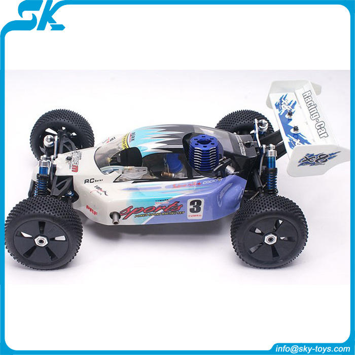 Exceed RC 1: velocidade 8one cross country nitro carro do gás rc do passatempo do motor brushless brinquedo VH-X8 rc kart racing/motor brushless rc modelo rc