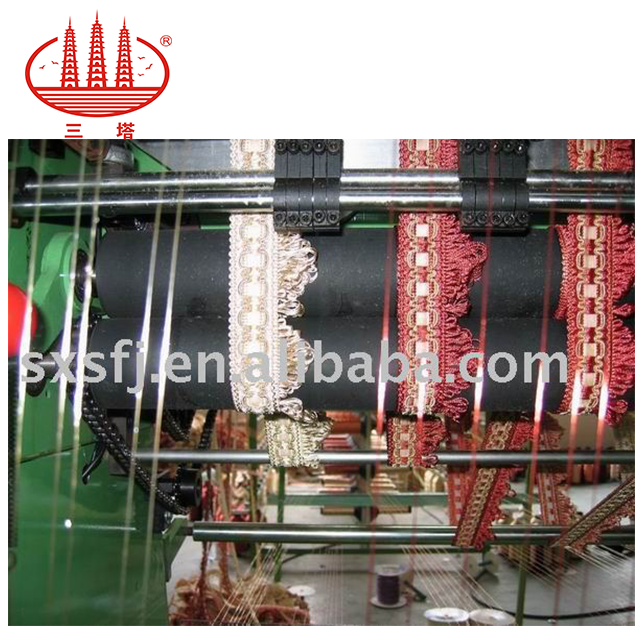 SGD-950 special style lace crochet knitting Machine is used for making many kinds of the acryl trim
