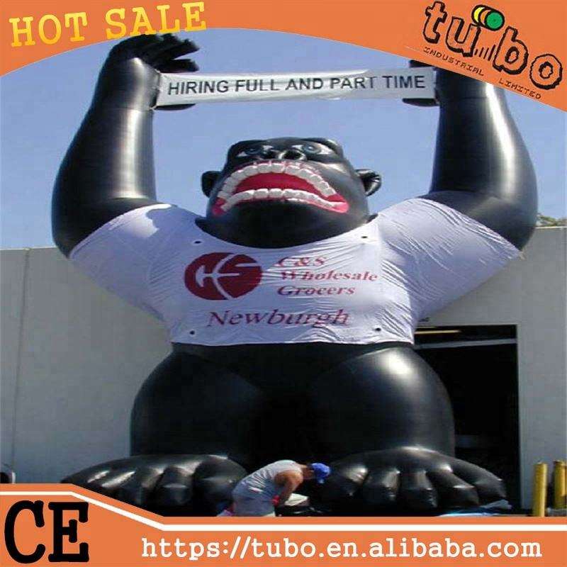 Hot sale inflatable gorilla for promotion