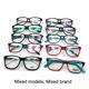 Free samples assorted ready mixed stock acetate optical eyeglass frames eyewear