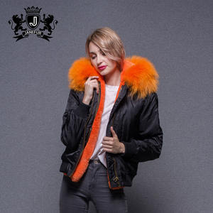 Outdoor Winter Zwart Custom Satin Varsity custom bomberjack vrouwen