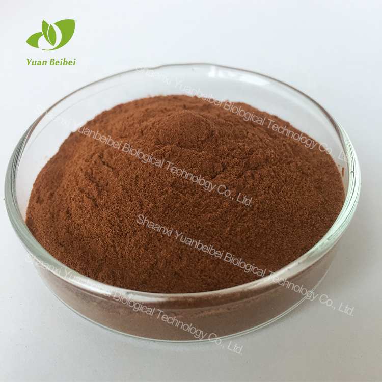 Pure organic caffeine powder guarana seed extract powder for sale