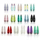 Teardrop Water Raindrop Decorative Colored Glass Stones Designs Colorful Decorations Rhinestones For Nail Art 3D