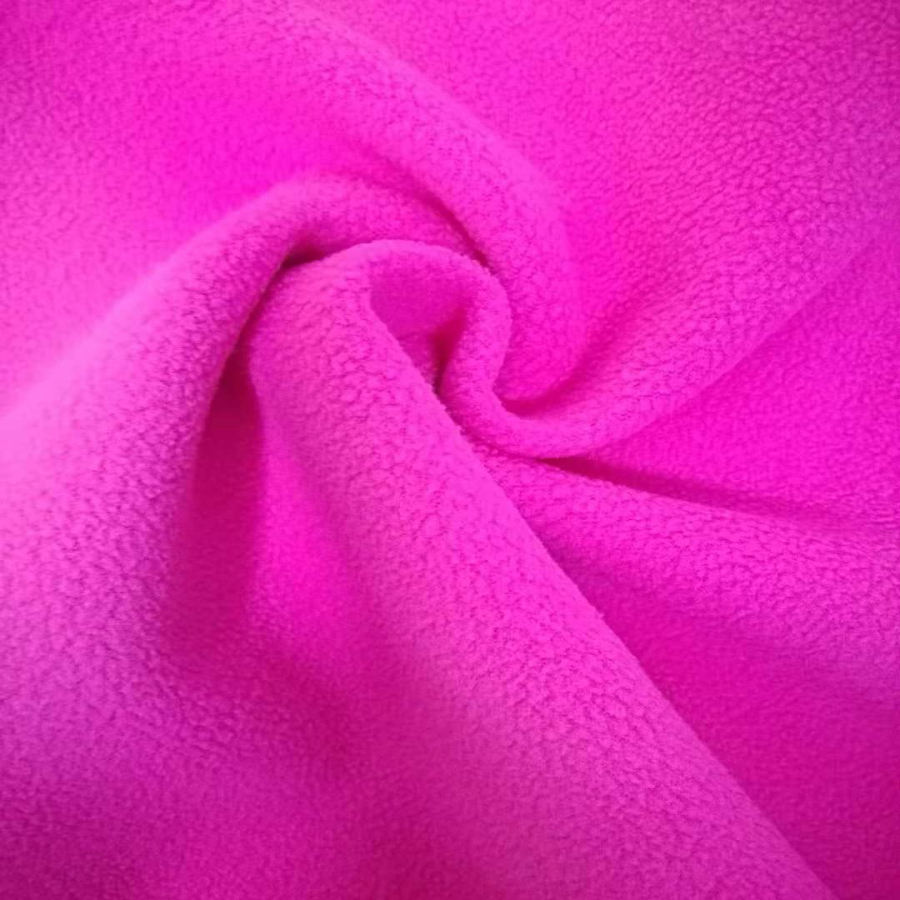 100% Polyester softshell fabric Jersey with Micro fleece 2 layer bonded waterproof fabric
