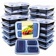 High Quality Plastic Fast Food Takeaway Box Fast Food Packaging Box
