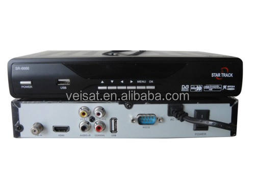 Mpeg4 New FTA+HD Digital Satellite Tv Receiver Support OEM