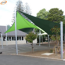 Sun Shade Carport Manufacturer produce Gardenline Shade Sail Nets / Waterproof HDPE Materials Sun Shade Sail