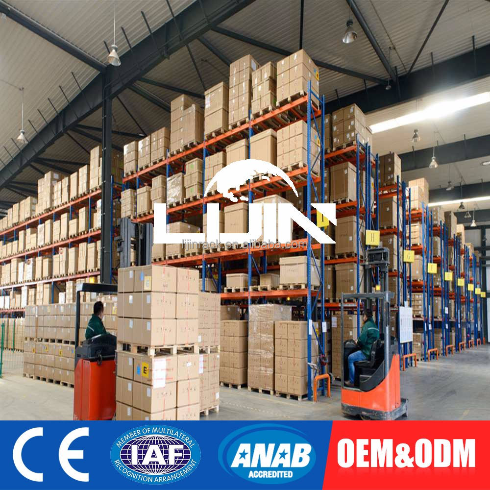 1000~3500kg/UDL Heavy Duty Industrial Racking/pallet rack/beam racking System