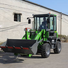 new type huizhong ZL-12 small wheel loader for sale HZM912 with bigger cabin space