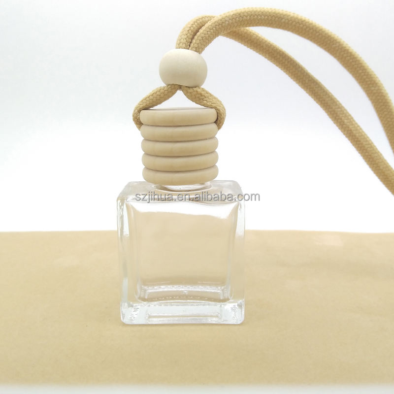JH-357 Perfume Pendant Car Hanging Glass Diffuser perfume Bottle